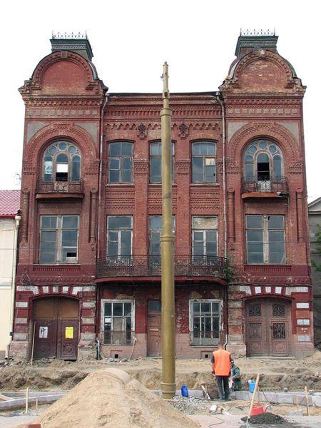 Обследование строительных конструкций здания библиотеки XIX в. в г. Гродно