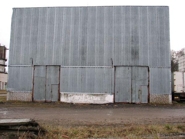 Обследование строительных конструкций склада