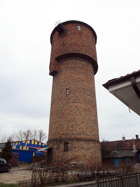 Обследование водонапорной башни