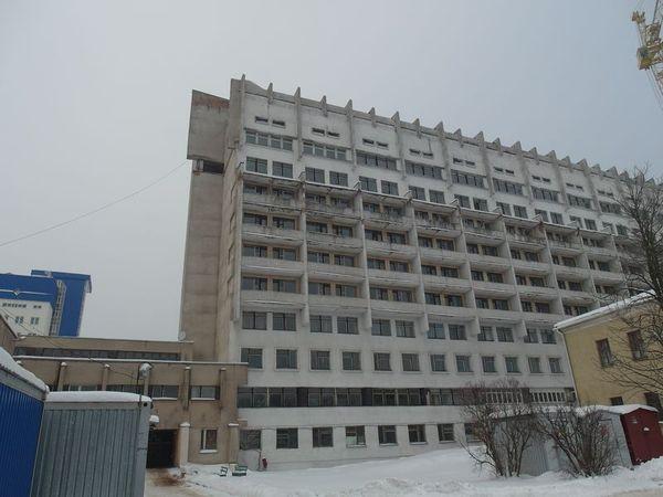 Обследование здания неврологического корпуса