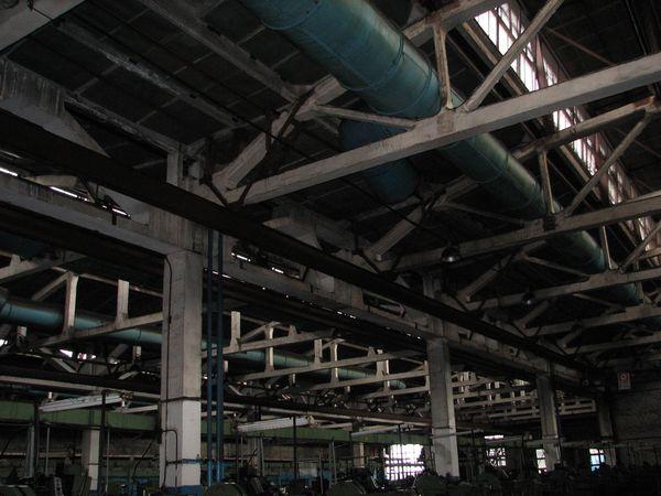 Обследование строительных конструкций цеха